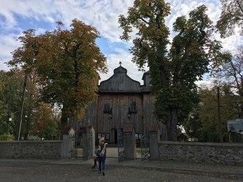 Goźlin, Mariańskie Porzecze, kościół z XVIII wieku, fot. Paweł Wroński