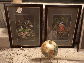 Ptaszki malowane przez lokalną artystkę, fot. Paweł Wroński