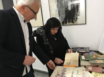 Andrzej Kurkowski w Skarbnicy Sztuki (24 stycznia 2019), fot. Paweł Wroński