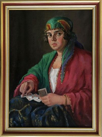 Autoportret w stroju scenicznej Cyganki, fot. Paweł Wroński