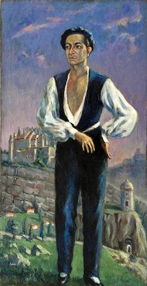 Józef Sendecki, Portret Baletmistrza z 1951 roku, fot. Paweł Wroński