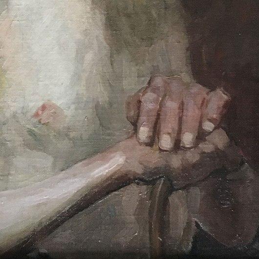 Starzec - zbliżenie dłoni, fot. Paweł Wroński