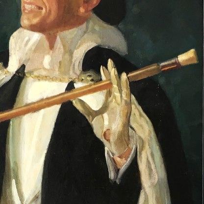 Najlepszy autoportret - ręka lewa; Sendecki w cylindrze i almawiwie, fot. Paweł Wroński