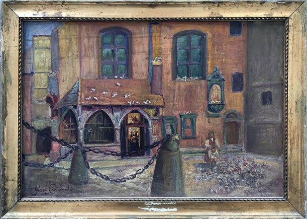 Józef Sendecki, Kraków (niedatowany), kruchta kościoła św. Barbary, fot. Paweł Wroński