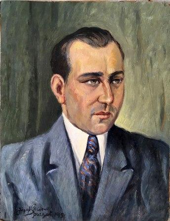 Józef Sendecki, portret Adma Łukasika z 1951 roku, fot. Paweł Wróński