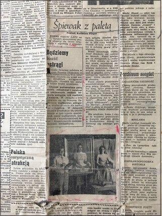 Wycinek z prasy poznańskiej z 1959 roku, fot. Paweł Wroński