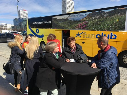 Swiss Busem w Polskę, fot. Paweł Wroński