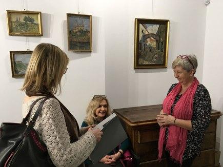 Wernisaż wystawy malarstwa Józefa Sendeckiego, fot. Paweł Wroński