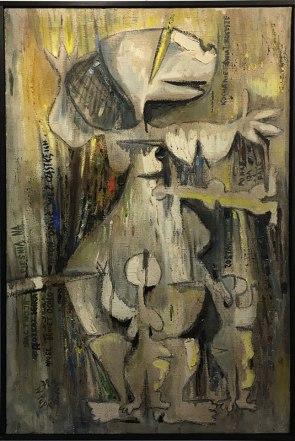 Pierwsi Barbakańczycy (Władysław Popielarczyk, Życie, 1972) - wystawa w Skarbnicy Sztuki i Wolskim Centrum Kultury, fot. Paweł Wroński
