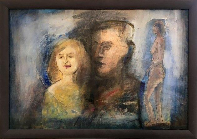 Pierwsi Barbakańczycy (Jerzy Lassota, Nadzieja 1988) - wystawa w Skarbnicy Sztuki i Wolskim Centrum Kultury, fot. Paweł Wroński