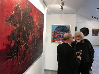 Pierwsi Barbakańczycy - wystawa w Skarbnicy Sztuki i Wolskim Centrum Kultury, fot. Paweł Wroński