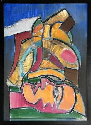 """Wystawa w Muzeum Warszawskiej Pragi, """"Z Melliny Sztuki: Jerzy Lassota"""" (Układanka, 2015), fot. Paweł Wroński"""