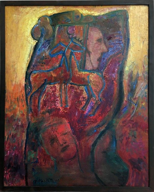 """Wystawa w Muzeum Warszawskiej Pragi, """"Z Melliny Sztuki: Jerzy Lassota"""" (Sen, 2006), fot. Paweł Wroński"""