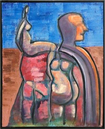 """Wystawa w Muzeum Warszawskiej Pragi, """"Z Melliny Sztuki: Jerzy Lassota"""" (Razem, 2010), fot. Paweł Wroński"""