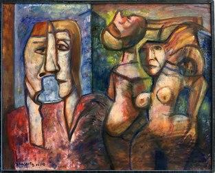 """Wystawa w Muzeum Warszawskiej Pragi, """"Z Melliny Sztuki: Jerzy Lassota"""" (Ulica Brzeska, 2008), fot. Paweł Wroński"""