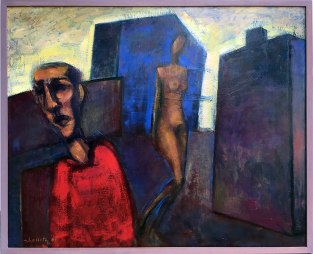 """Wystawa w Muzeum Warszawskiej Pragi, """"Z Melliny Sztuki: Jerzy Lassota"""" (Miłość na Pradze, 2006), fot. Paweł Wroński"""