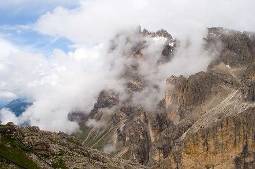 Rosetta (2743 m) w grupie Pale di San Martino, fot. Paweł Wroński
