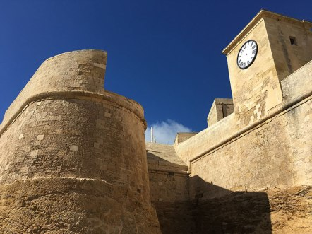 Iċ-Ċittadella w Victorii na maltańskiej wyspie Gozo, fot. Paweł Wroński