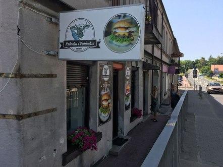 """""""Krówka i Połówka"""", czyli godna polecenia burgerownia w Iłży, fot. Paweł Wroński"""