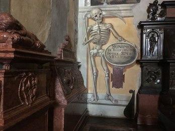 Memento mori z Kaplicy Szydłowieckich, fot. Paweł Wroński