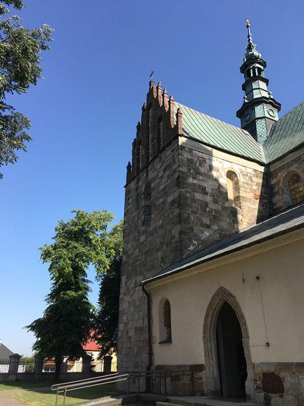 Gotyckie fragmenty świątyni od strony północno wschodniej, fot. Paweł Wroński