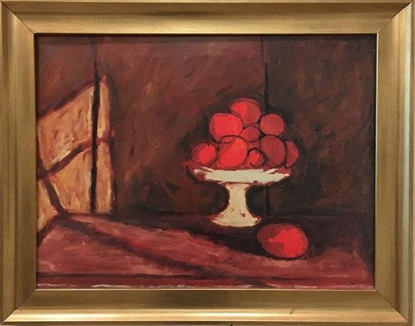 """Józef Czapski - """"Martwa natura z pomarańczami"""", obraz niedatowany, fot. Paweł Wroński"""