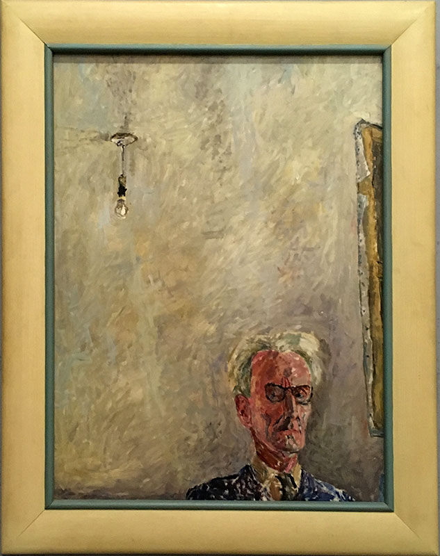 Józef Czapski - Autoportret z żarówką z 1958 roku, fot. Paweł Wroński