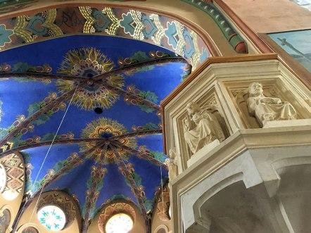 Wnętrze nowego kościoła w Sulisławicach, fot. Paweł Wroński
