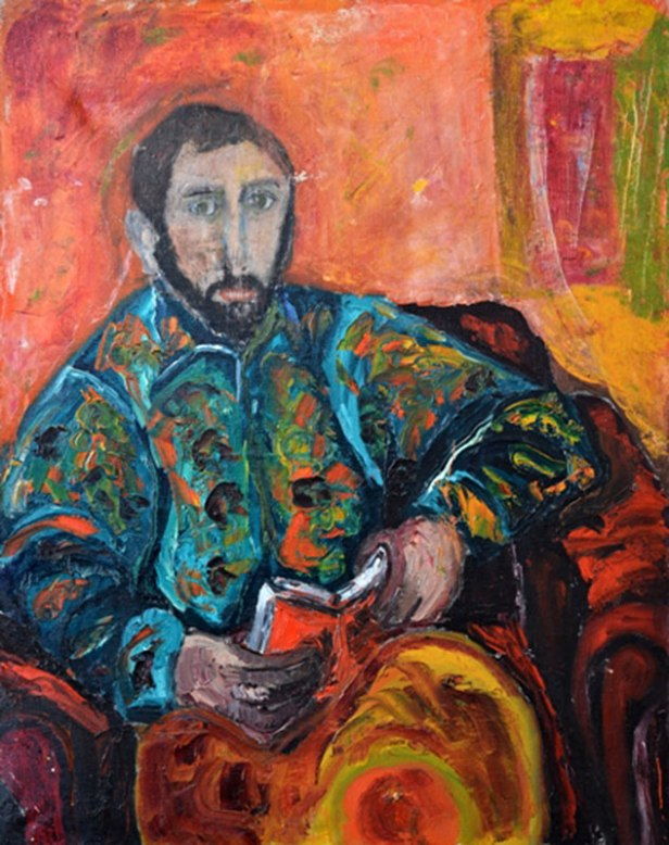 Tadeusz Chyła - Autoportret (Archiwum Fundacji Skarbnica Sztuki)