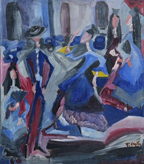 Tadeusz Chyła - Tango (Archiwum Fundacji Skarbnica Sztuki)
