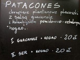 Patacones - info, fot. Paweł Wroński