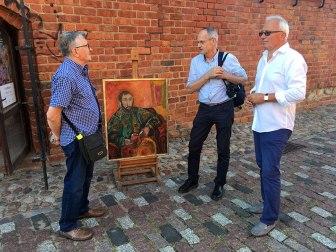 Wernisaż wystawy malarstwa Tadeusza Chyły na Barbakanie, fot. Paweł Wroński