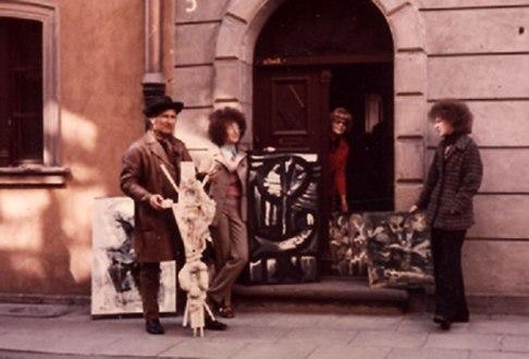 Piwna 3/5 w latach 70. XX wieku, fot. z archiwum rodzinnego