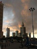 Warszawa o zachodzie słońca, 19 września 2019, fot. Paweł Wroński