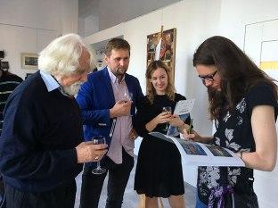 """Wernisaż wystawy """"Popielarczyk-kontynuacja"""", fot. Paweł Wroński"""