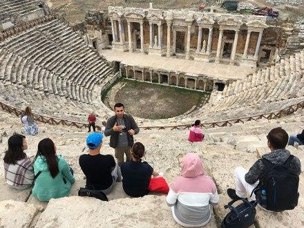 Hierapolis - ruiny starożytnej metropolii, fot. Paweł Wroński