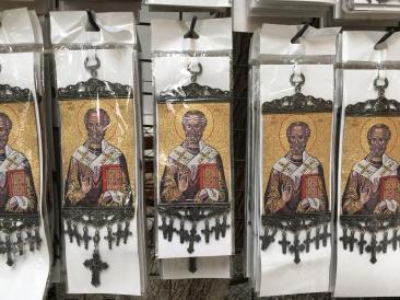Wizerunek św. Mikołaja ze starej ikony, fot. Paweł Wroński