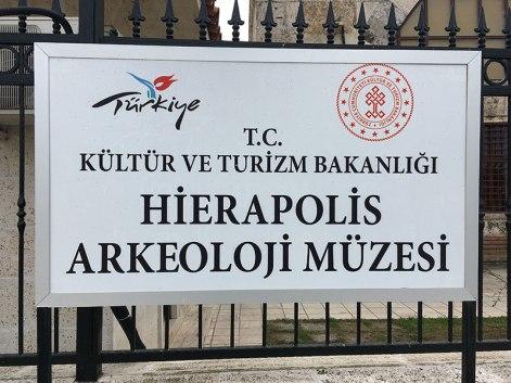 Muzeum archeologiczne w Hierapolis-Pamukkale, fot. Paweł Wroński