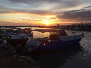 Port rybacki w Evrenseki, fot. Paweł Wroński