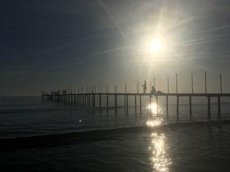 Evrenseki, plaża koło zgrupowania hoteli, fot. Paweł Wroński