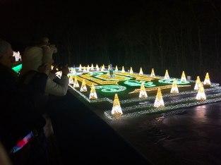 Ogród świateł w Wilanowie 2019/2020, fot. Paweł Wroński