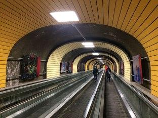 Tunel prowadzący na Dorfstrasse w Ischgl, fot. Paweł Wroński