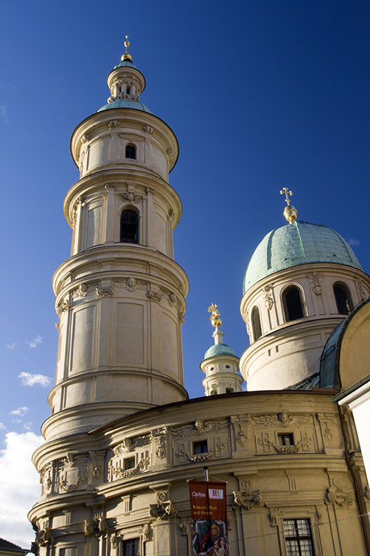 Pomnikowa świątynia w Grazu, fot. Paweł Wroński