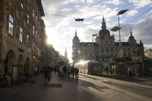 Graz - centrum miasta a zarazem Starówka, fot. Paweł Wroński