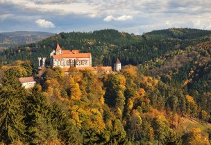 Pernštejn, mat. prasowe Czechtourism