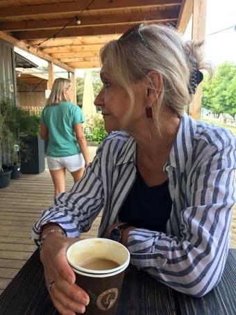 """Kawa w restauracji """"Grunt i Woda"""", fot. Paweł Wroński"""