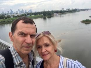 Selfie na Moście Łazienkowskim, fot. Paweł Wroński