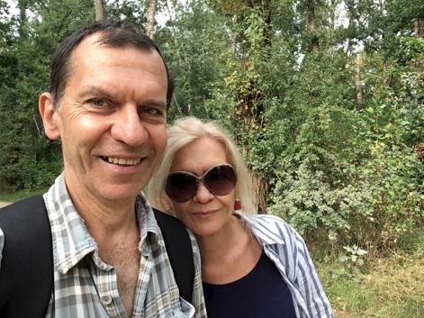 Selfie w łęgowych zaroślach, fot. Paweł Wroński