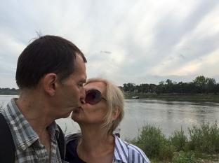 Selfie znad Wisły, fot. Paweł Wroński
