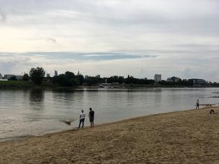 Zabawa na nadwiślańskiej plaży, fot. Paweł Wroński